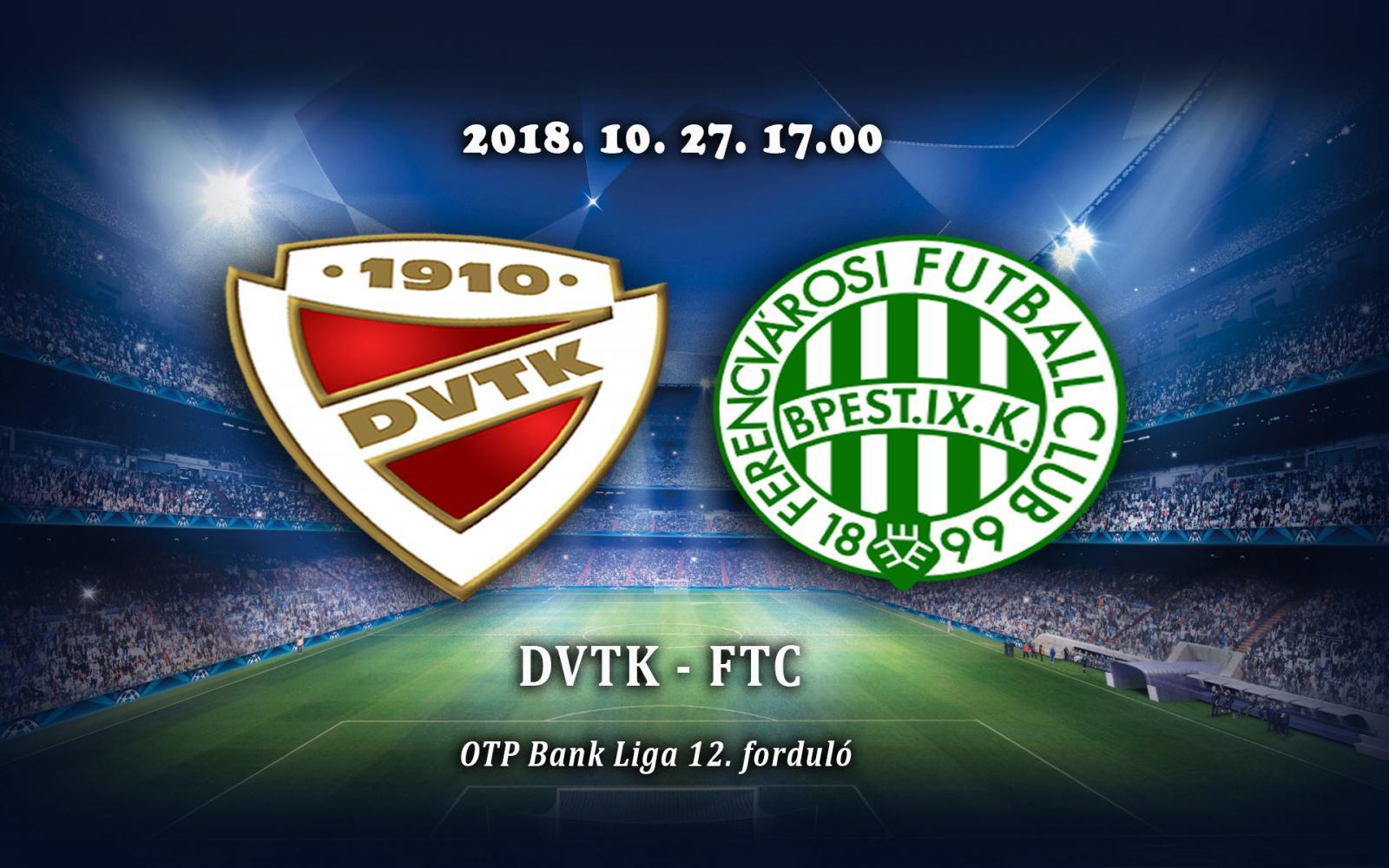 DVTK - Ferencváros 1-4 - Amíg Élek Én 84d09a27f2