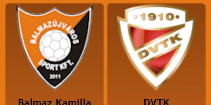 Balmazújváros - DVTK  0-0