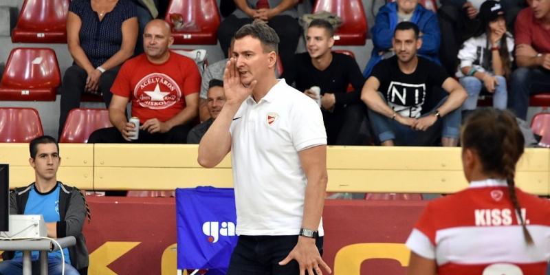 Hétfőn hazai pályán játszik a DVTK röplabdacsapata