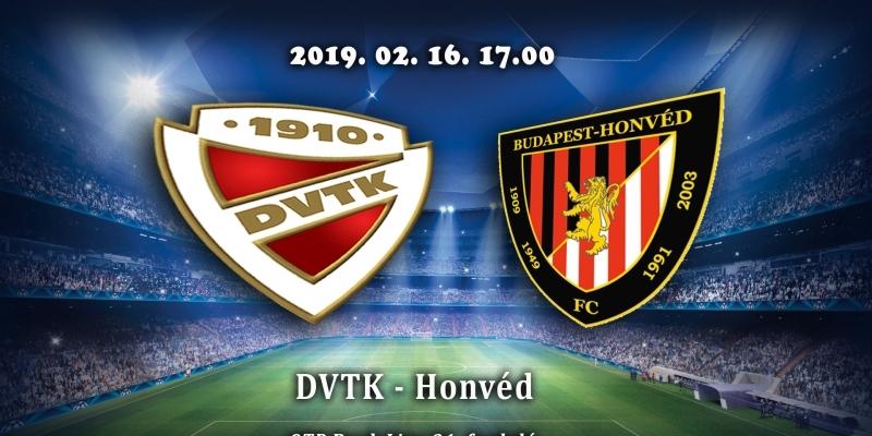 DVTK - Honvéd 2-1