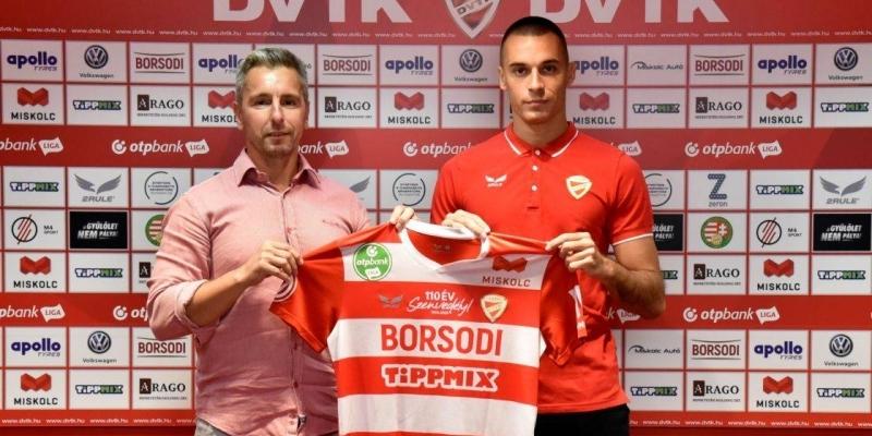 Stefan Dražić a DVTK labdarúgója