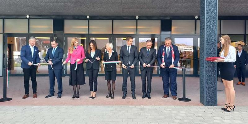 Átadták a DVTK új multifunkciós sportcsarnokát, a DVTK Arénát
